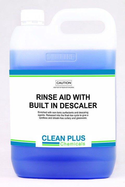 Rinse Aid with Built in Descaler