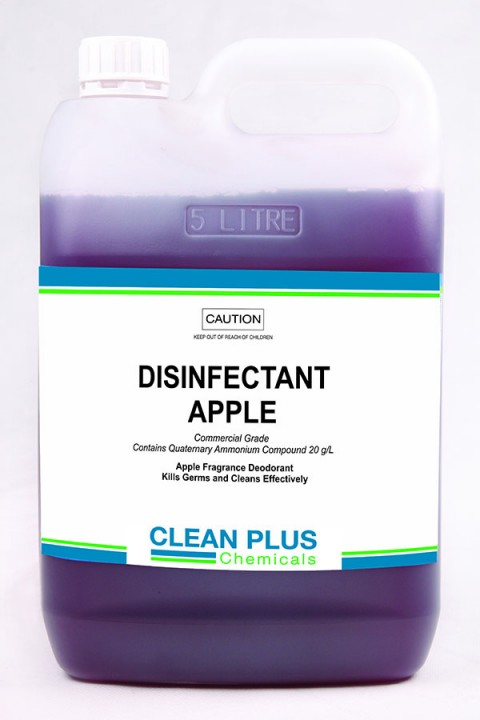 Disinfectant Apple