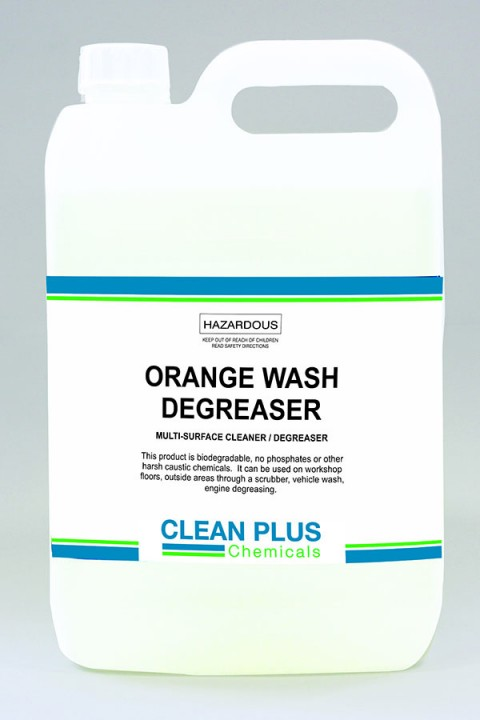 Orange Wash Degreaser