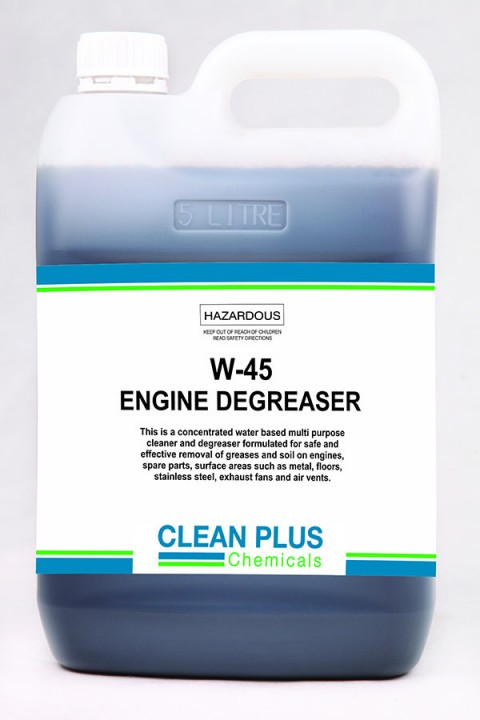 W-45 Engine Degreaser